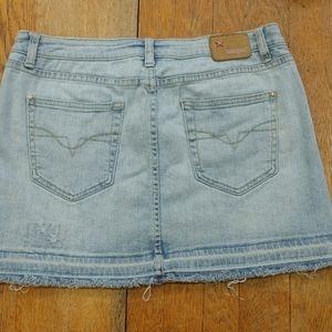 Denim Mini Skirt by Bubblegum size 10
